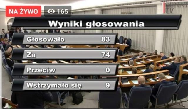Senat przegłosował specustawe 265!