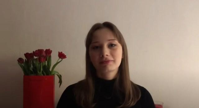 Zjednoczeni walczmy z okupacją- Olivia Richardson.