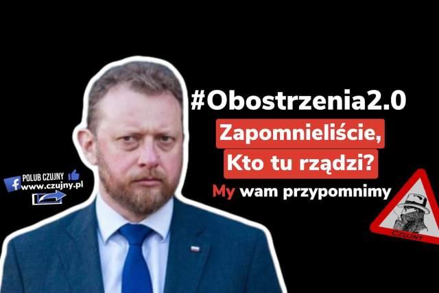 Szumowski: My nie kończymy epidemii, żeby była jasność!
