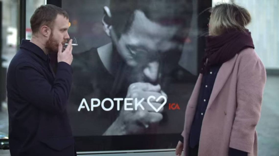 apotek digital signage