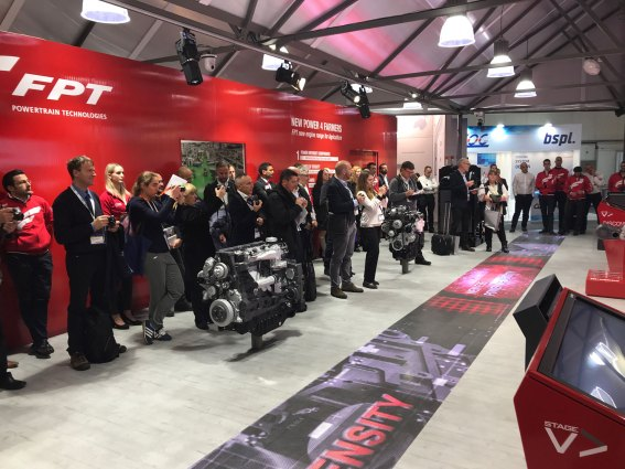 FPT Industrial - Press Conference Agritechnica 2017