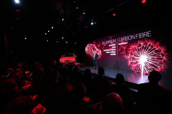 Alfa Romeo - Stelvio Press and Fleet Conference 2017