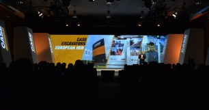 Case Construction - Press Conference and Dealer Convention 2017