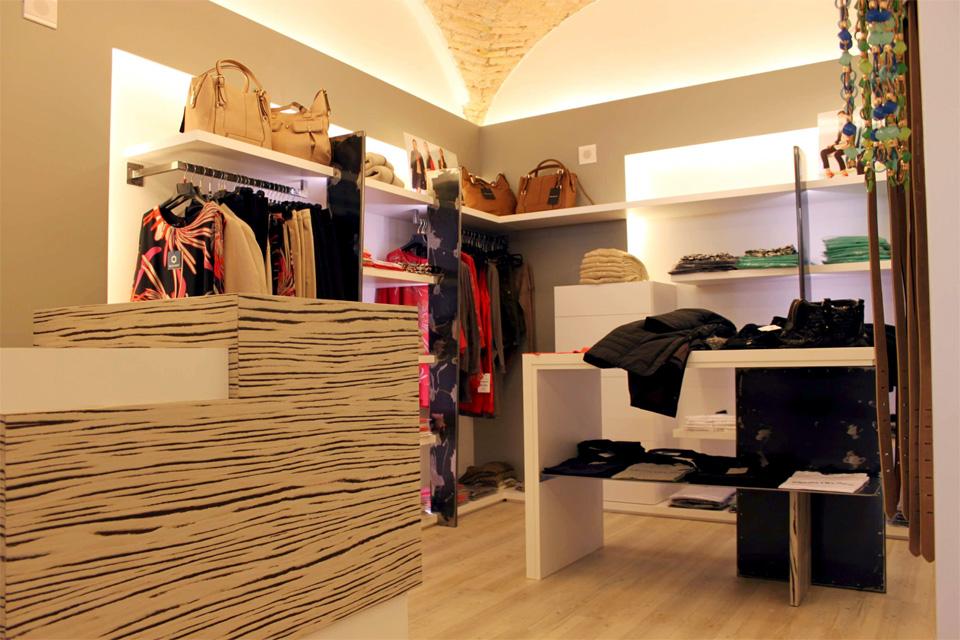 Primo progetto DLabdesign per negozio di abbigliamento