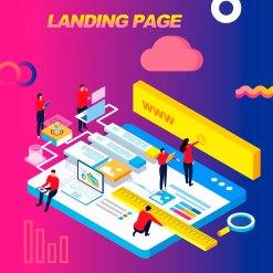 landign page