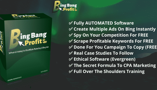 My New Software INSTANTLY Creates Profit-Optimized Ads On Bing!  With One Click…That Brings You Massive ROI !