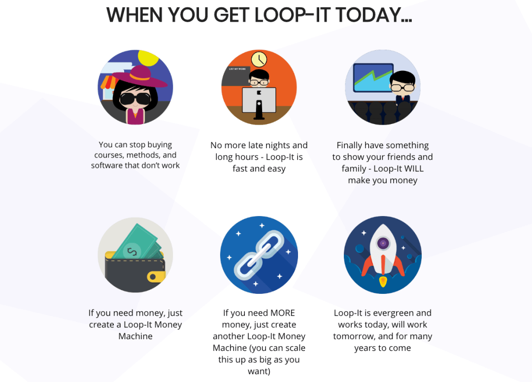 3 Case Studies Reveal How To Bank $197.95 Over And Over Again With FREE Traffic Using the Loop-it Method 6