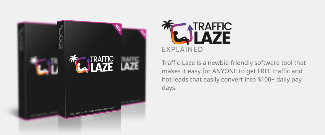 [Traffic-Laze Review ] Discover the Software that Gets You FREE Traffic, Leads, And Sales On Autopilot 3
