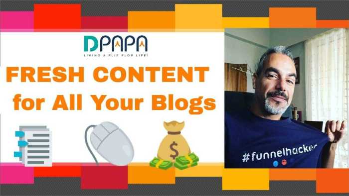 Get Fresh Content For Your Websites and Blogs on Autopilot with WP AutoContent 3