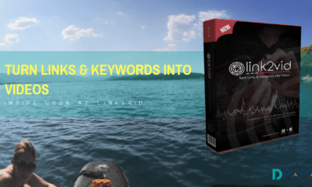 Turn Links and Keywords into Videos with Link2Vid