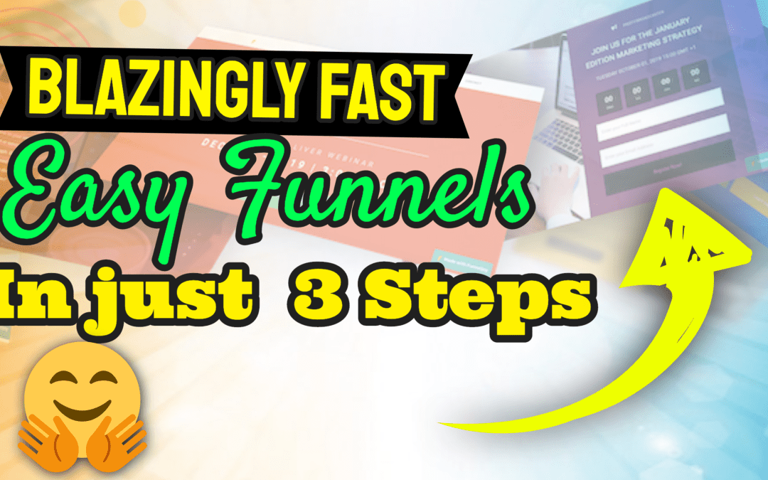 Simple Drag & Drop  Ultra-Fast Web Page & Complete Sales Funnel Builder…Insanely Cheap!