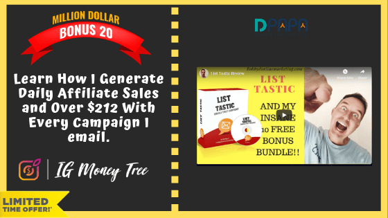 """How To Earn up to $300 """"A POP"""" with your own IG Money Tree Site 32"""