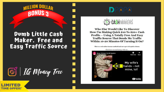 """How To Earn up to $300 """"A POP"""" with your own IG Money Tree Site 15"""