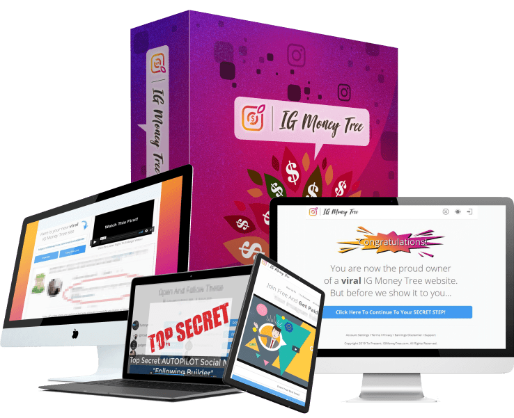 """How To Earn up to $300 """"A POP"""" with your own IG Money Tree Site 36"""