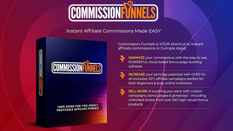 """Get Your Own """"DONE FOR YOU"""" Affiliate Commission Funnels To Help You Earn From Zero to 3+ figure in daily profits 10"""