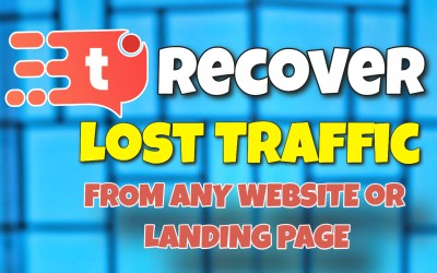 How To Recover Lost Traffic From Any Website or Landing Page using Tab Engage