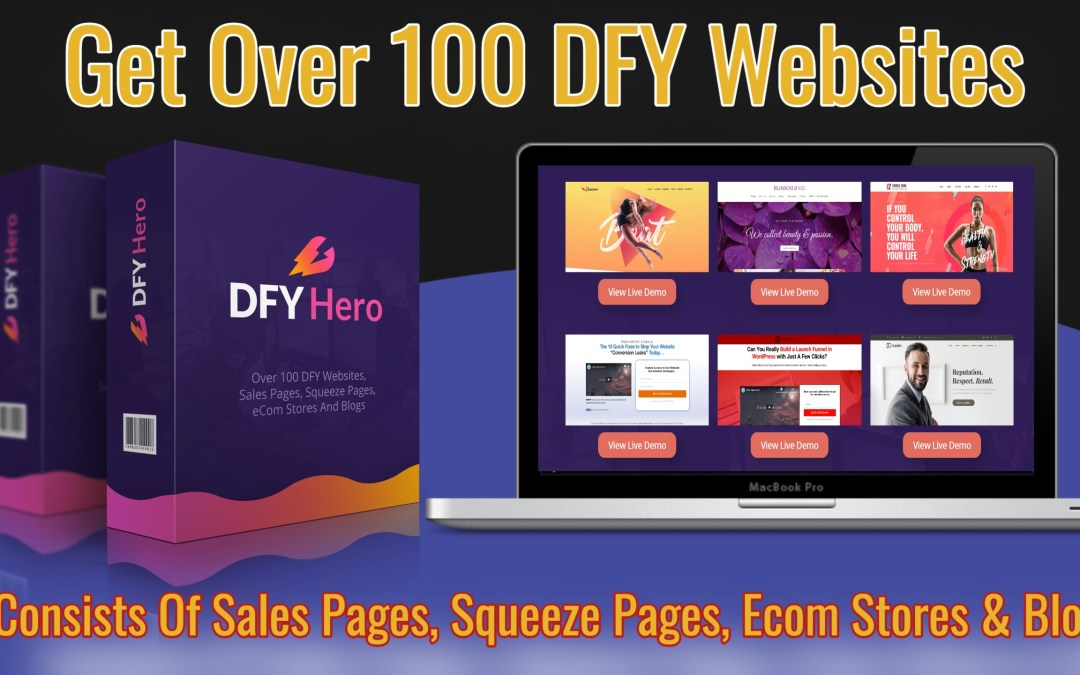 DFY Hero | By Far The Easiest And Fastest Way To Get Success Online