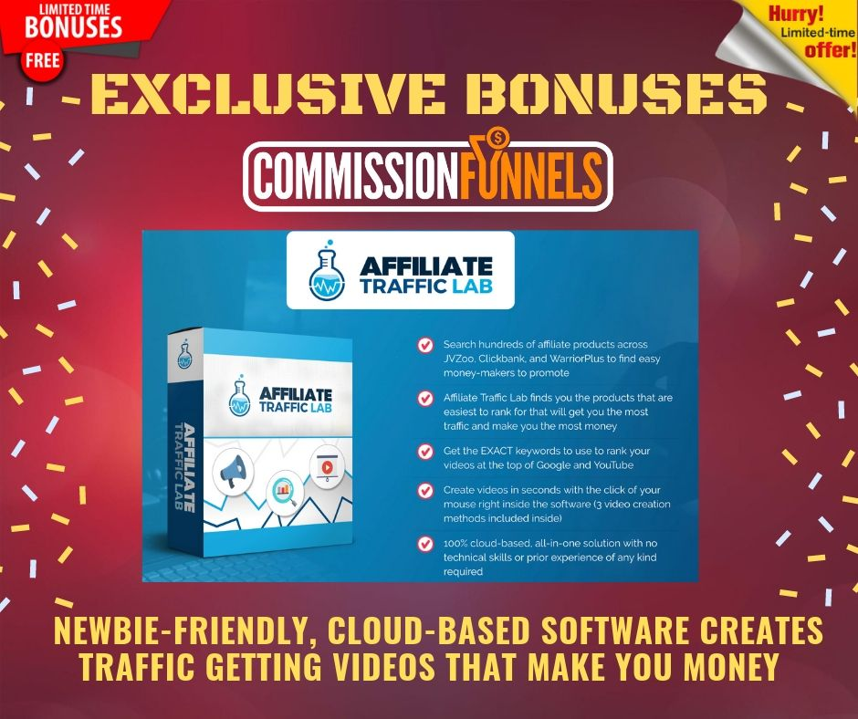 """Get Your Own """"DONE FOR YOU"""" Affiliate Commission Funnels To Help You Earn From Zero to 3+ figure in daily profits 7"""