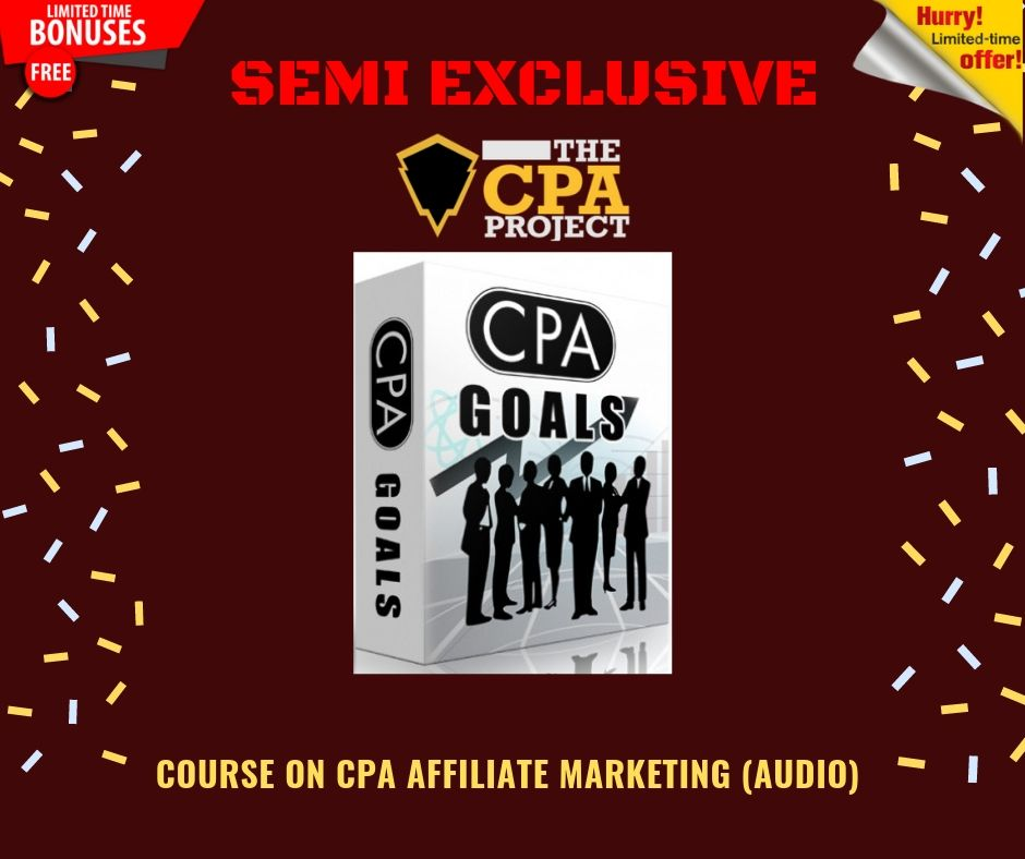 [THE CPA PROJECT] 4 Ways to Build a Passive Income With CPA Affiliate Marketing 13