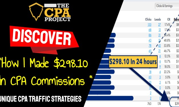[THE CPA PROJECT] 4 Ways to Build a Passive Income With CPA Affiliate Marketing