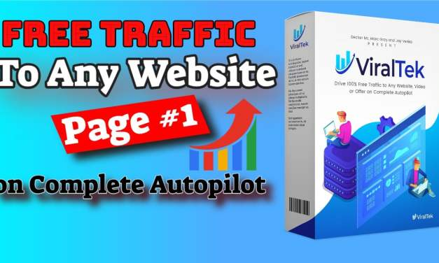 How to Get Free Traffic and Rank Your Website's Blog Posts on Page #1 of Google  | Viraltek