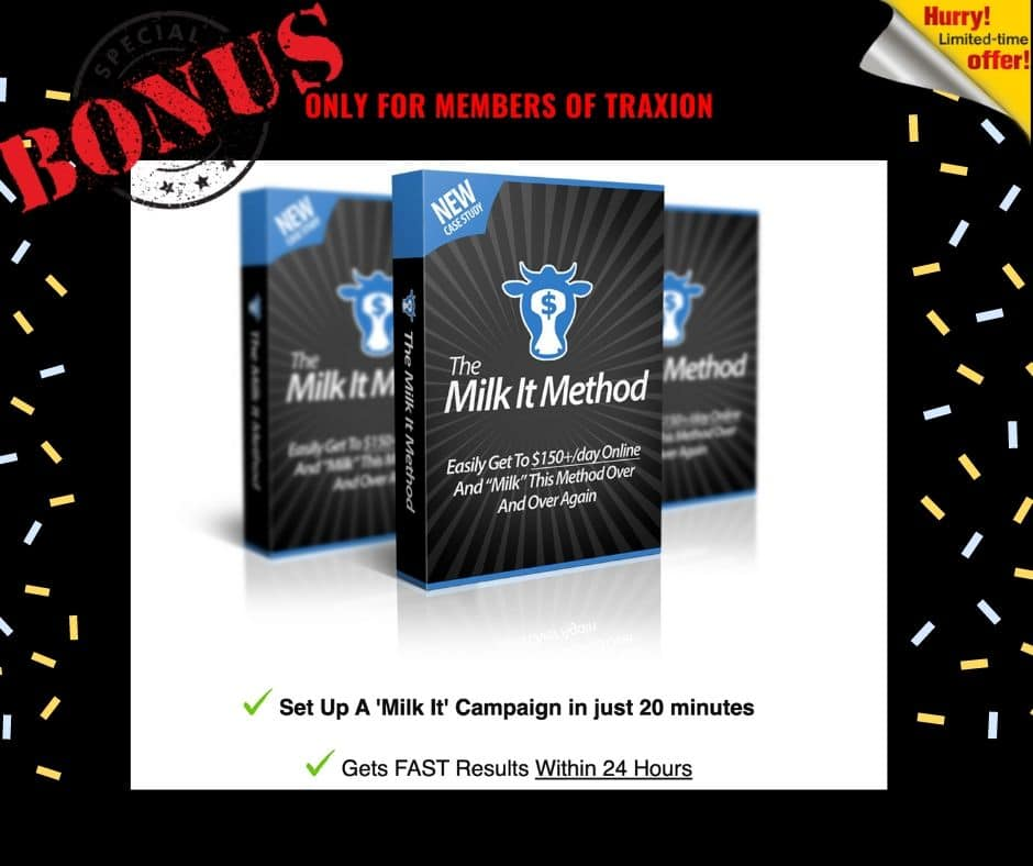 "A Fast Way To Gain Some ""Traxion"" Online and Build Your Affiliate Biz 8"