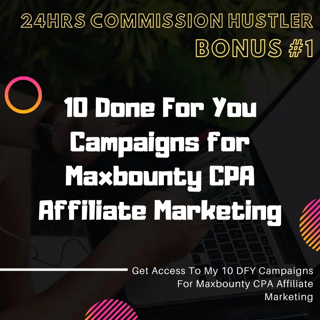 24 Hours Commission Hustler | Case Study : A New Traffic Hack Which Can Generates $300/day and More... 7