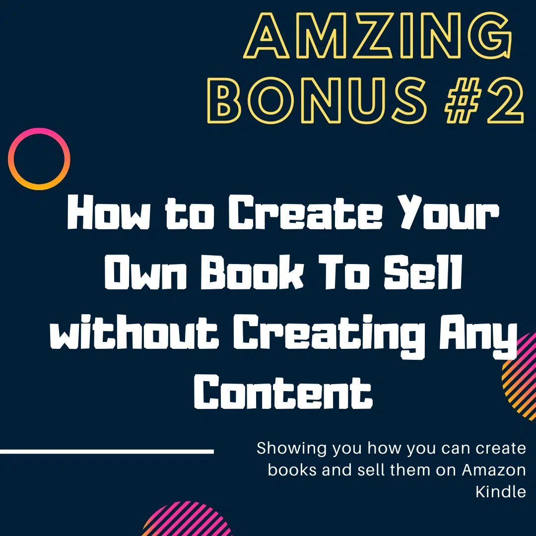 A-Z Step-By-Step Blueprint For Generating Quick N' Easy Profits On Amazon 9