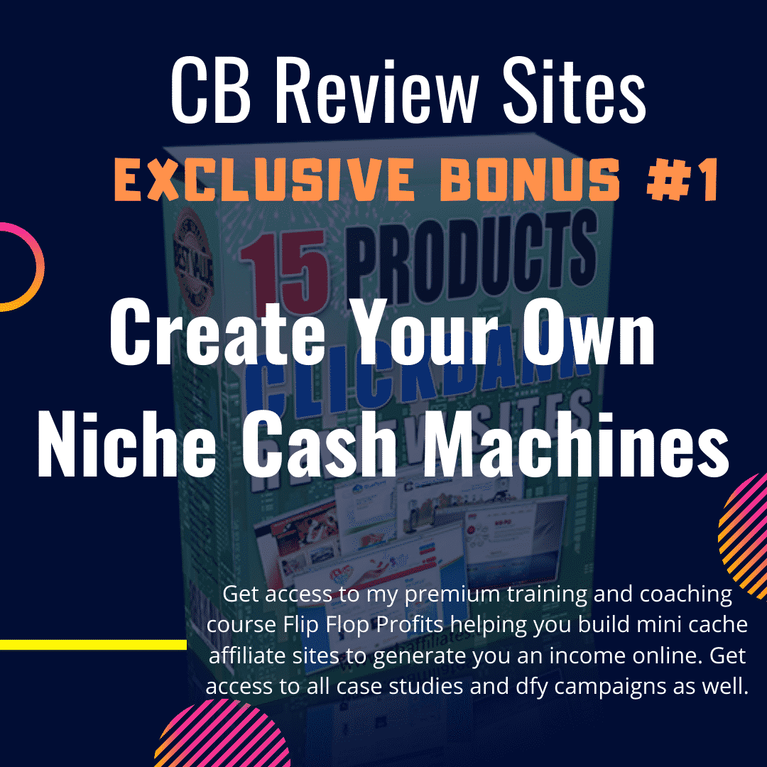 CB Reviews Website - DFY websites for daily ClickBank commissions 9