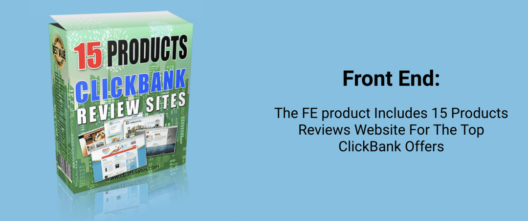 CB Reviews Website - DFY websites for daily ClickBank commissions 3