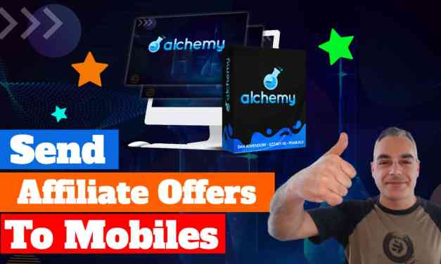 How To Send Affiliate Offers Straight To Customer's Mobiles | Alchemy Software