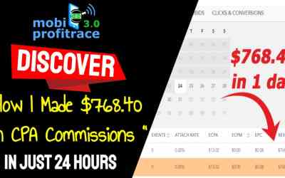 Learn The Exact Mobile CPA System that Earns You Effortless $784.40 per Day Tapping Into A Totally Fresh Push Notification Traffic Source…