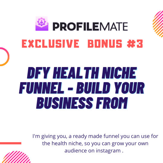 ProfileMate | Worlds #1 Instagram Fan Growth, Email building & Competitor domination software ever created. 8