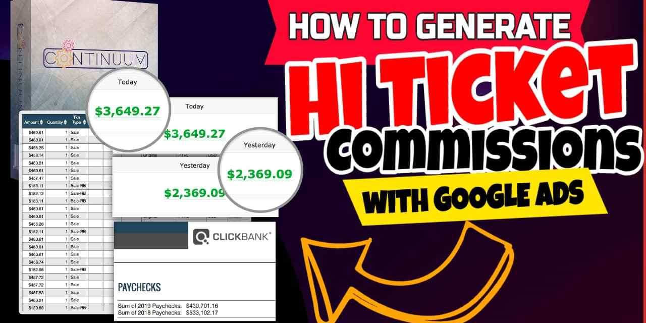 Continuum   The Ultimate All-Inclusive Solution To High Ticket Commissions Today