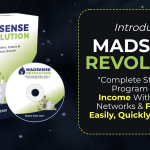Madsense Revolution : How to get to 100,000 visitors per month and 6 figure income with 0 cost