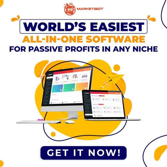 Marketibot | World's Easiest All-In-One Software For Passive Profits In ANY Niche 13