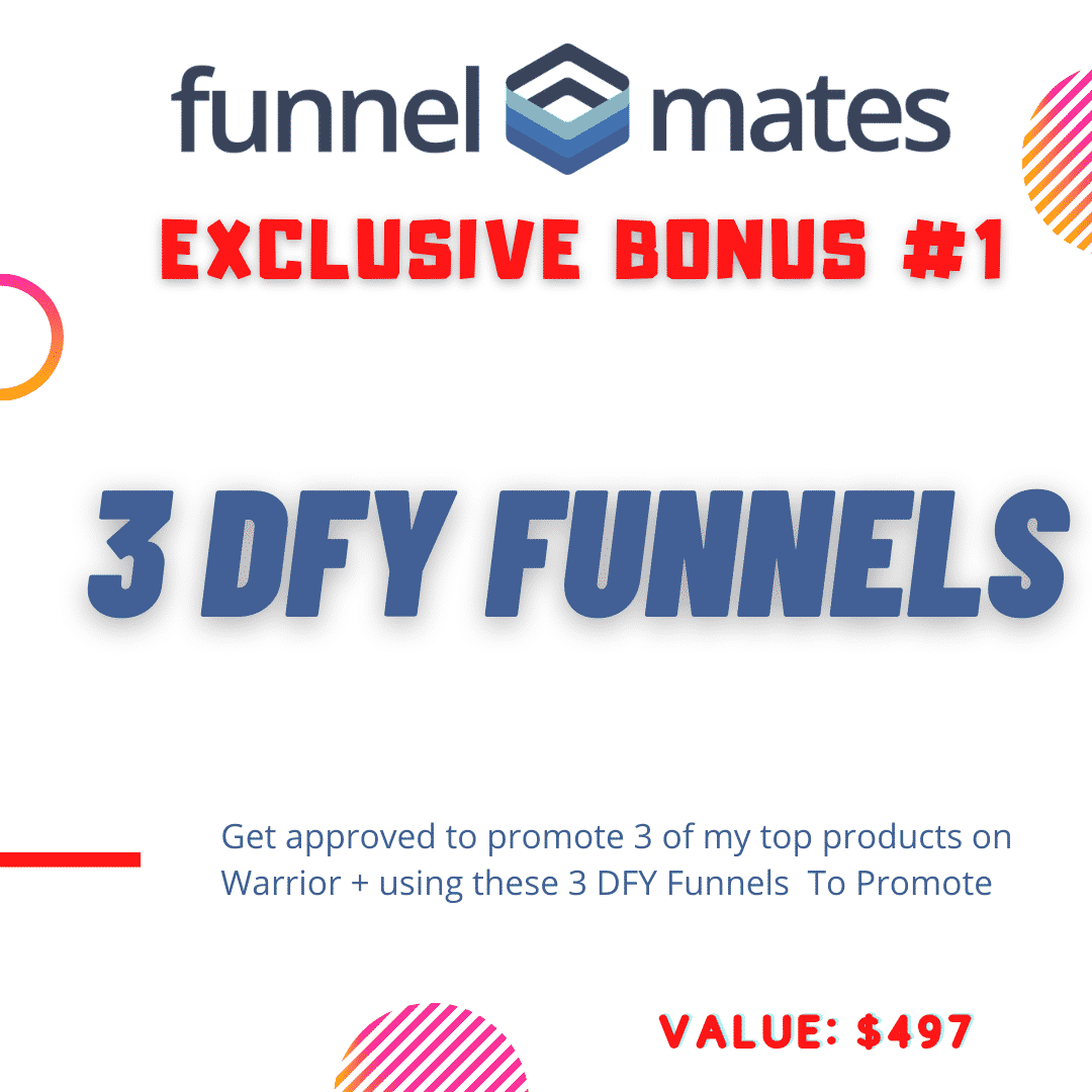 Funnel Mates a Funnel Builder That Pays YOU To Use It 6