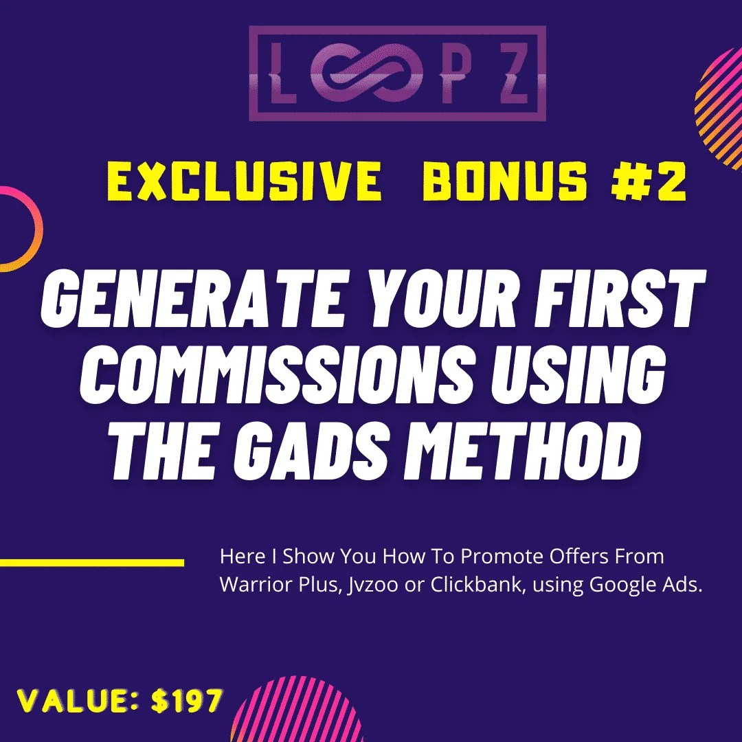 Loopz Review | Copy Websites and Landing Pages To Generate Commissions 7