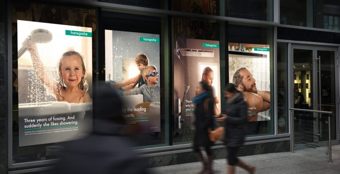 D35IGN INC Helps set up Hansgrohe New London Showroom