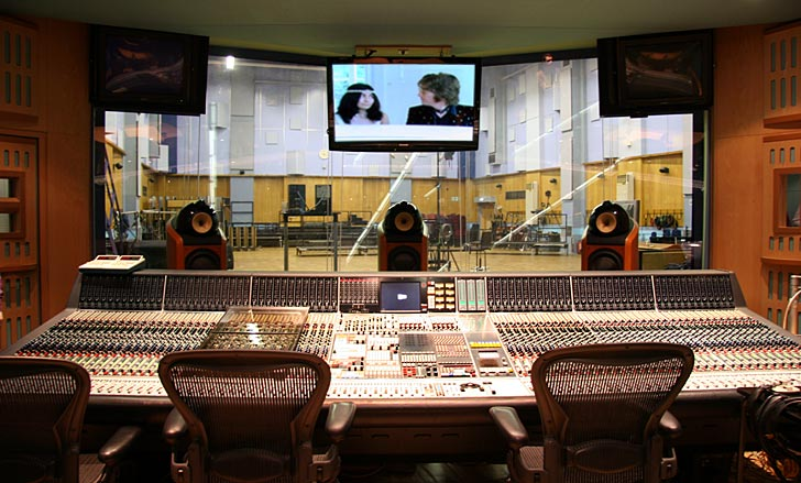 abbey road control room a
