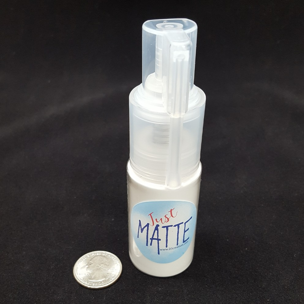 15g Powder Spray matting powder for silicone