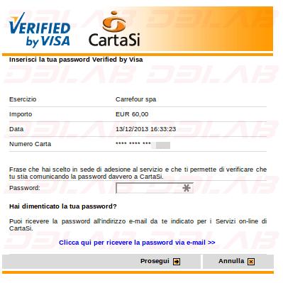 verifica secure code