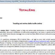 comunicato stampa TotalErg