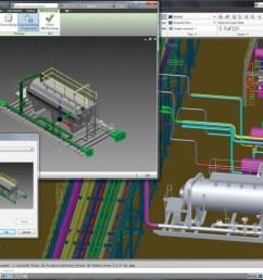autocad plant design rendering [ 1261 x 761 Pixel ]
