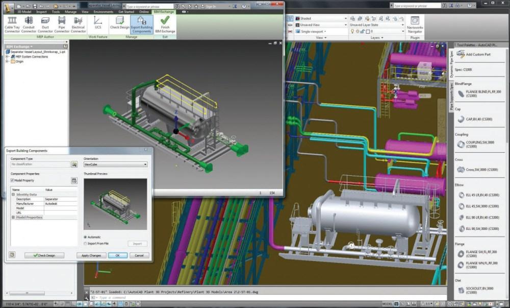 medium resolution of autocad plant design rendering