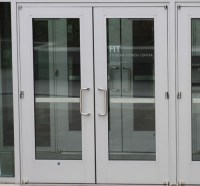 Aluminum Door: Wide Stile Aluminum Door