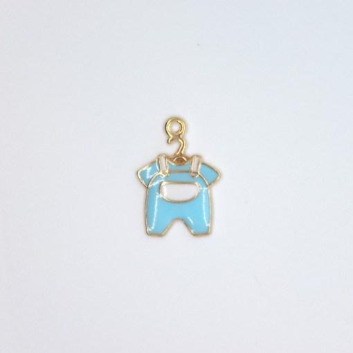 mama baby strampler blau 15x20mm