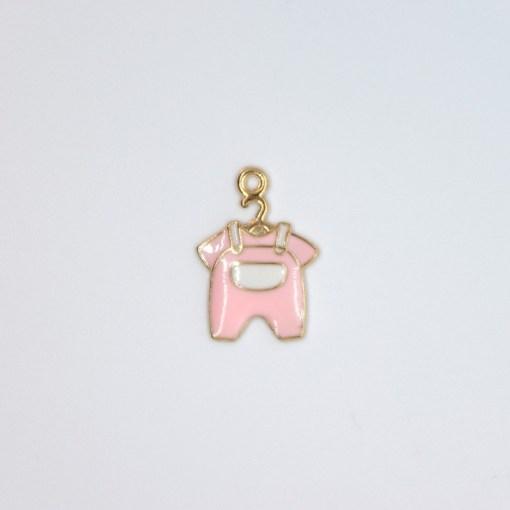 mama baby strampler rosa 15x20mm