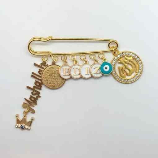 Anstecknadel gold islam EDIZ 2050