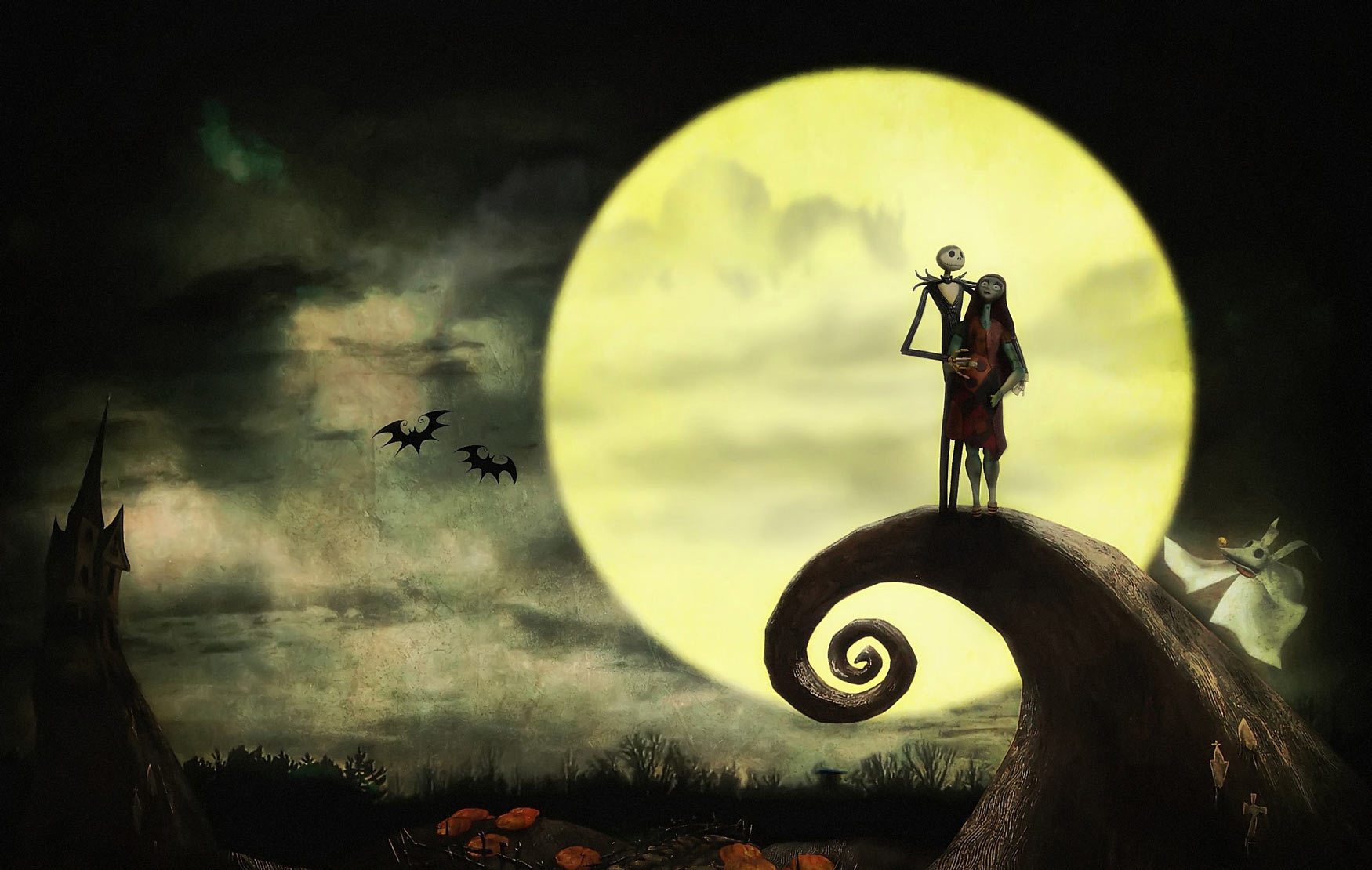 Happy Halloween From Nightmare Before Christmas